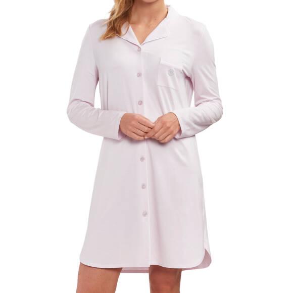 5356d3c72e7565 Feraud - Damen Nachthemd mit durchgehenden Knopfleiste - 90 cm lang -  Langarm