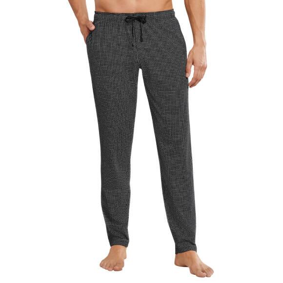 Schlafanzug Hose Schiesser Baumwolle Mix /& Relax Herren lang