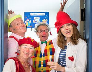 die UKM-Clinic-Clowns